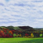 """Autumn Along the Appalachian Trail"" 29"" X 59"" Pastel on 100% Cotton Rag Board"